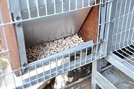 Кормушка для кроликов бункерная