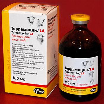ауреомицин инструкция по применению - фото 2